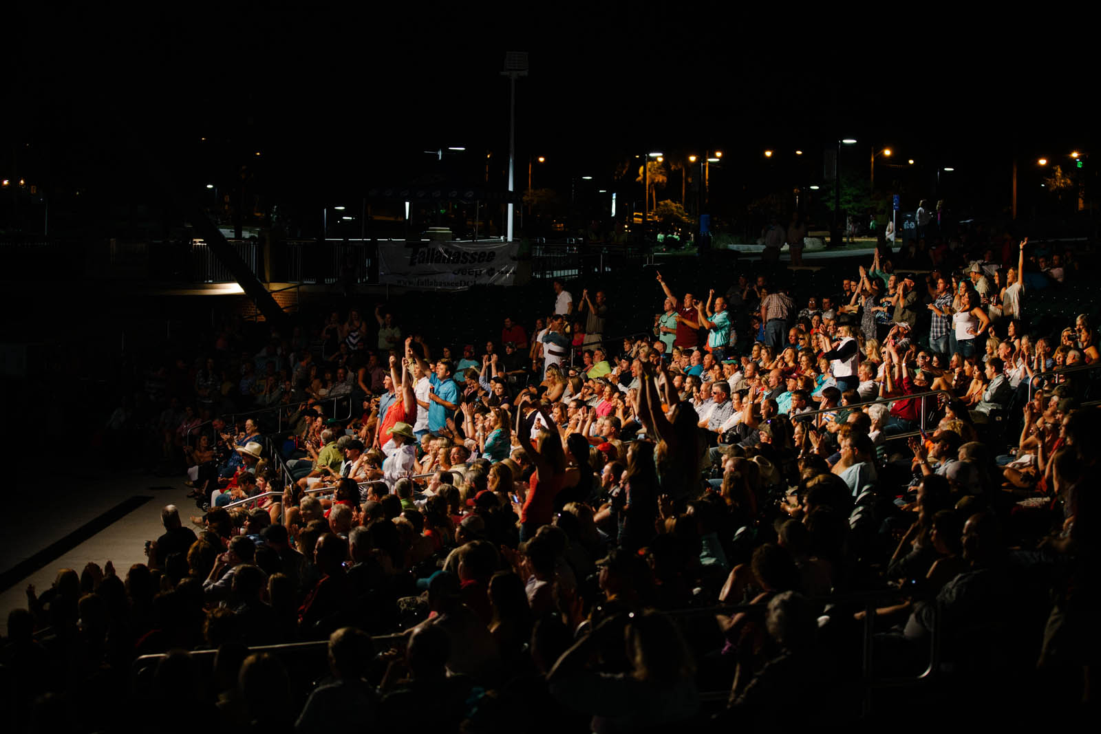 Capital City Amphitheater crowd picture