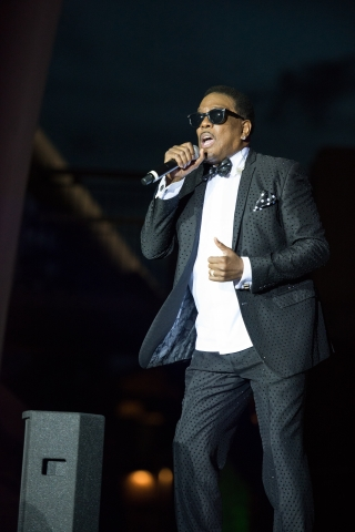 Charlie Wilson close up