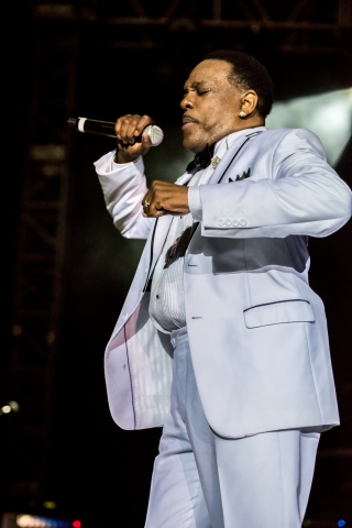 Charlie Wilson close up shot