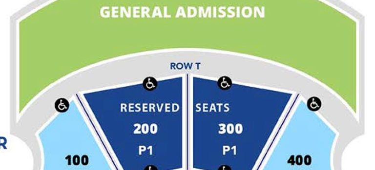 Capital City Amphitheater Seating Chart